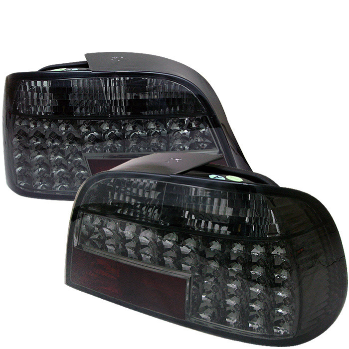 Spyder Auto ALT-YD-BE3895-LED-SM Smoke LED Taillights BMW E38 730iL 95-96