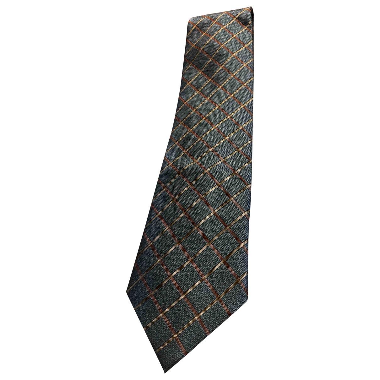 Pierre Cardin \N Krawatten in  Grau Synthetik