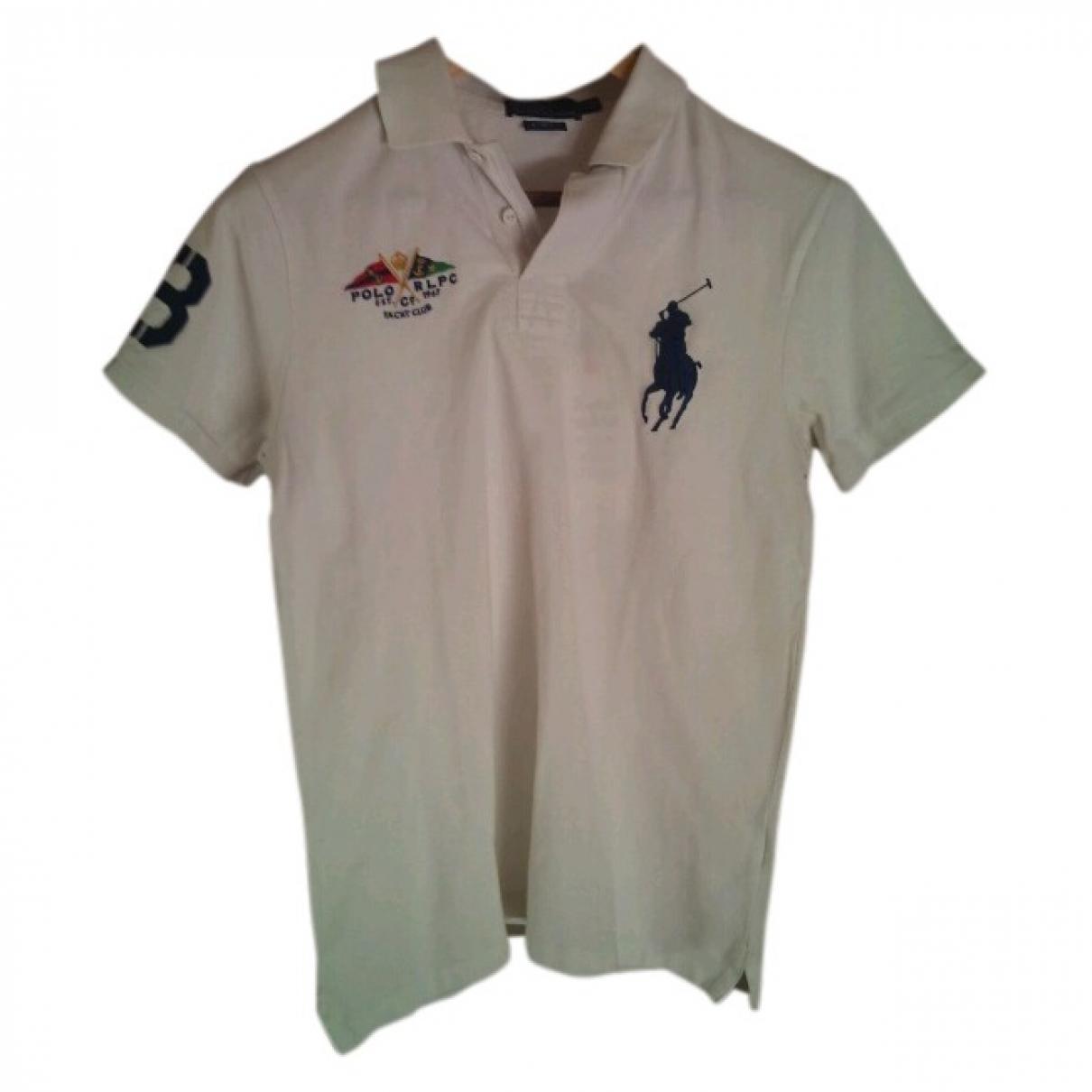Polo Ralph Lauren \N White Cotton Polo shirts for Men M International