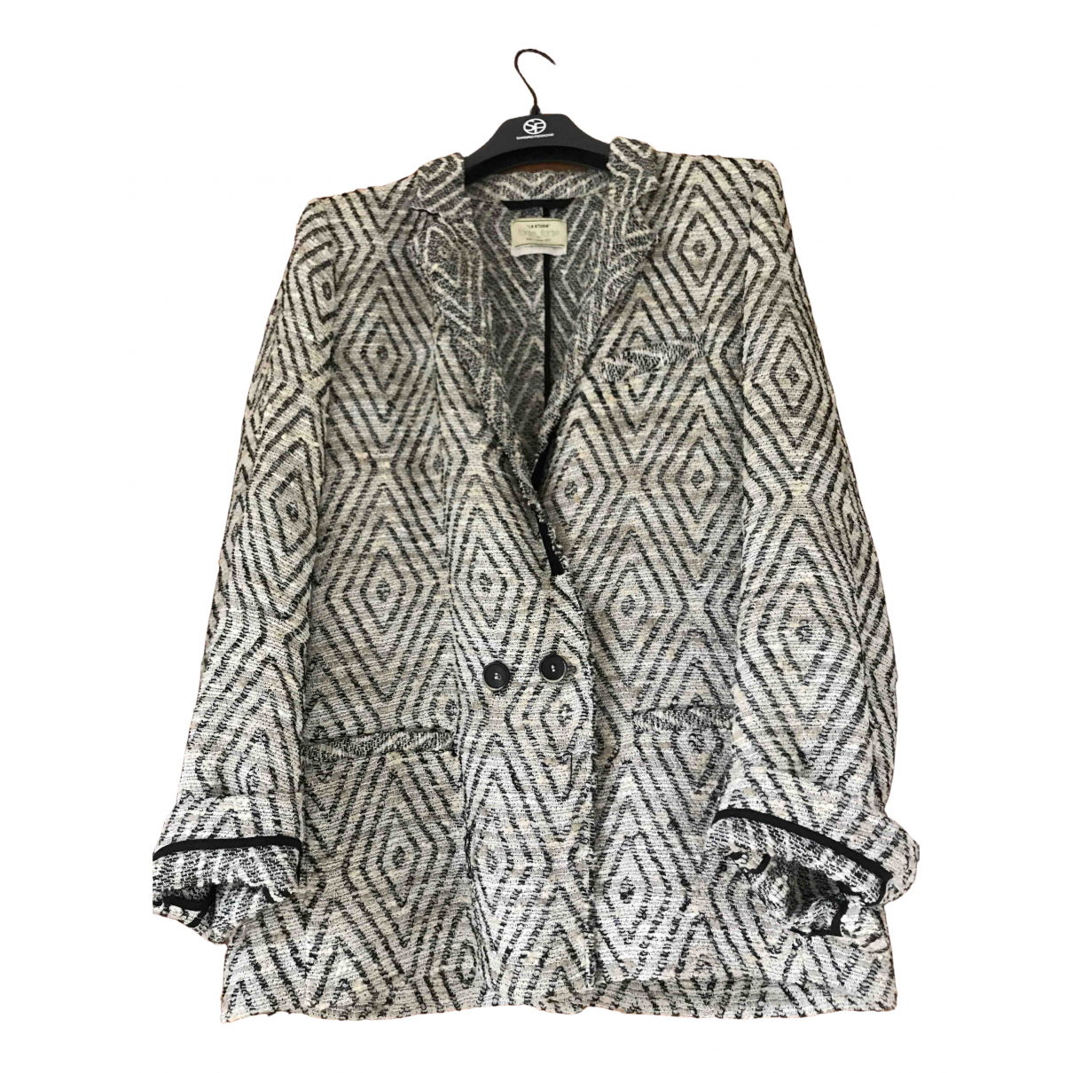 Forte_forte N Grey Cotton jacket for Women M International