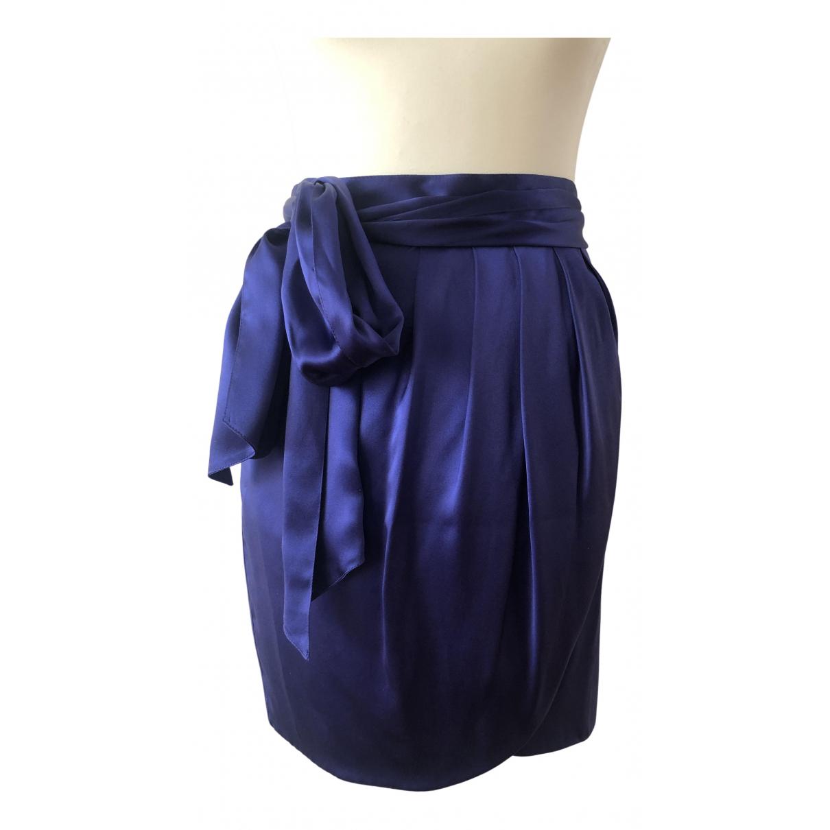 See By Chloe - Jupe   pour femme en soie - violet