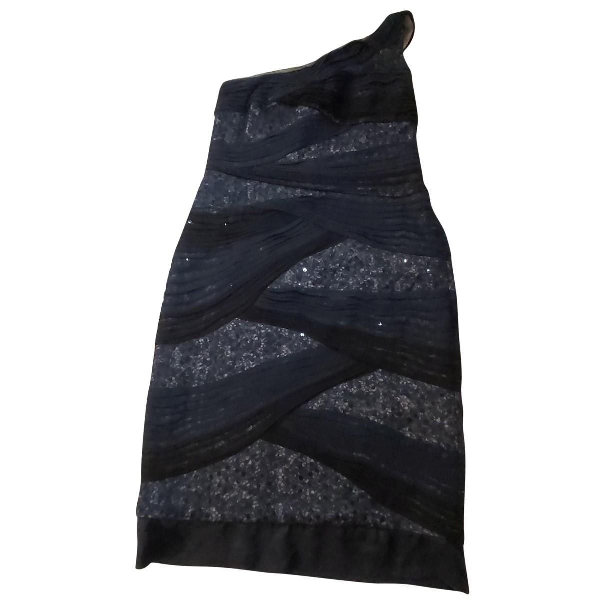 Tadashi Shoji - Robe   pour femme en a paillettes - bleu