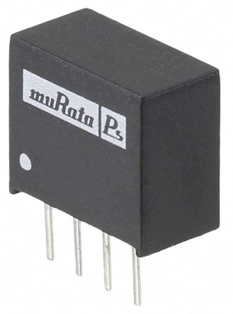 Murata Power Solutions CME 0.75W Isolated DC-DC Converter Through Hole, Voltage in 4.5 → 5.5 V dc, Voltage out