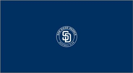 52-2011 San Diego Padres 8' Pool Table