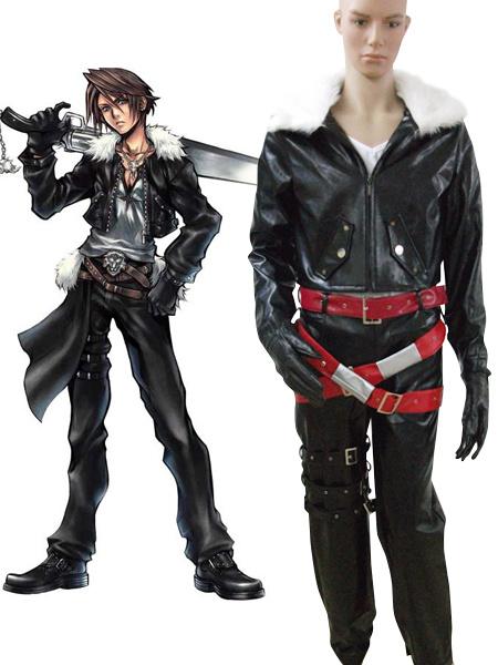 Milanoo Halloween Traje de Squall Leonhart para cosplay de Final Fantasy