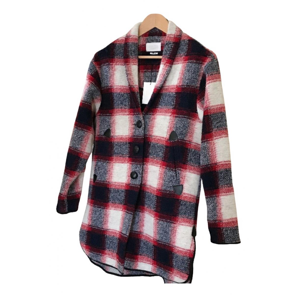 Isabel Marant Etoile \N Maentel in  Rot Wolle