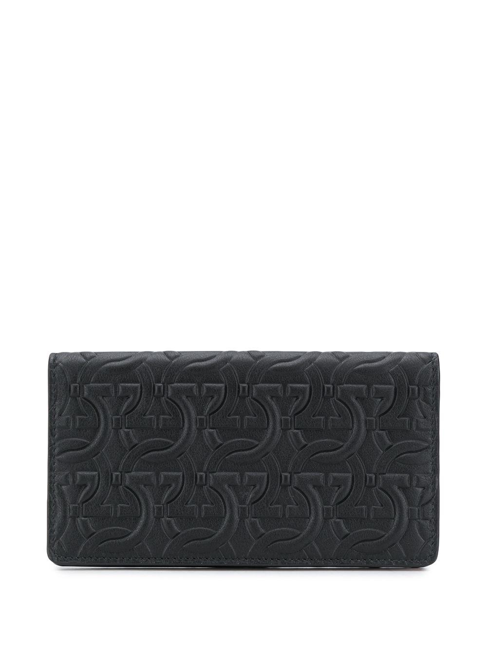 Gancini Leather Wallet