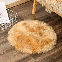 Round Plush Carpet