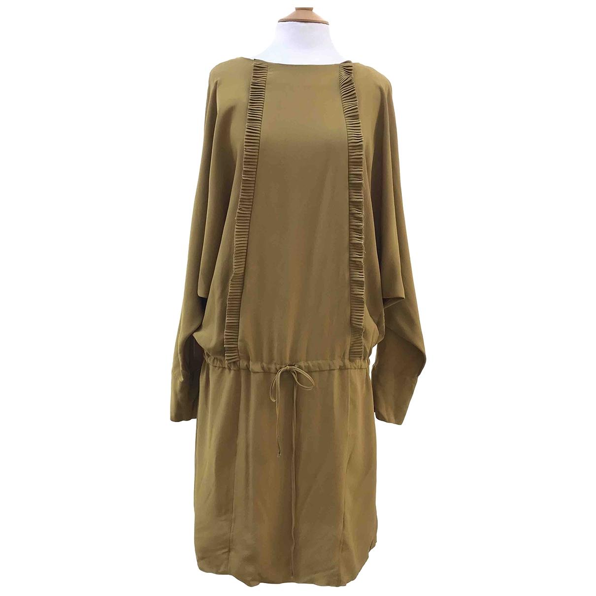 Marni \N Kleid in  Gelb Viskose