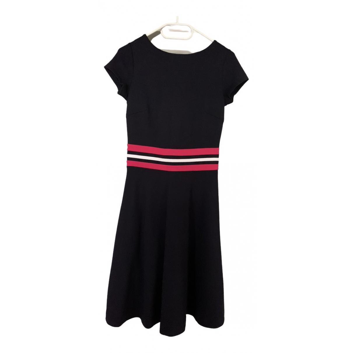 Hobbs \N Kleid in  Blau Viskose