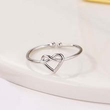 Heart Design Cuff Ring