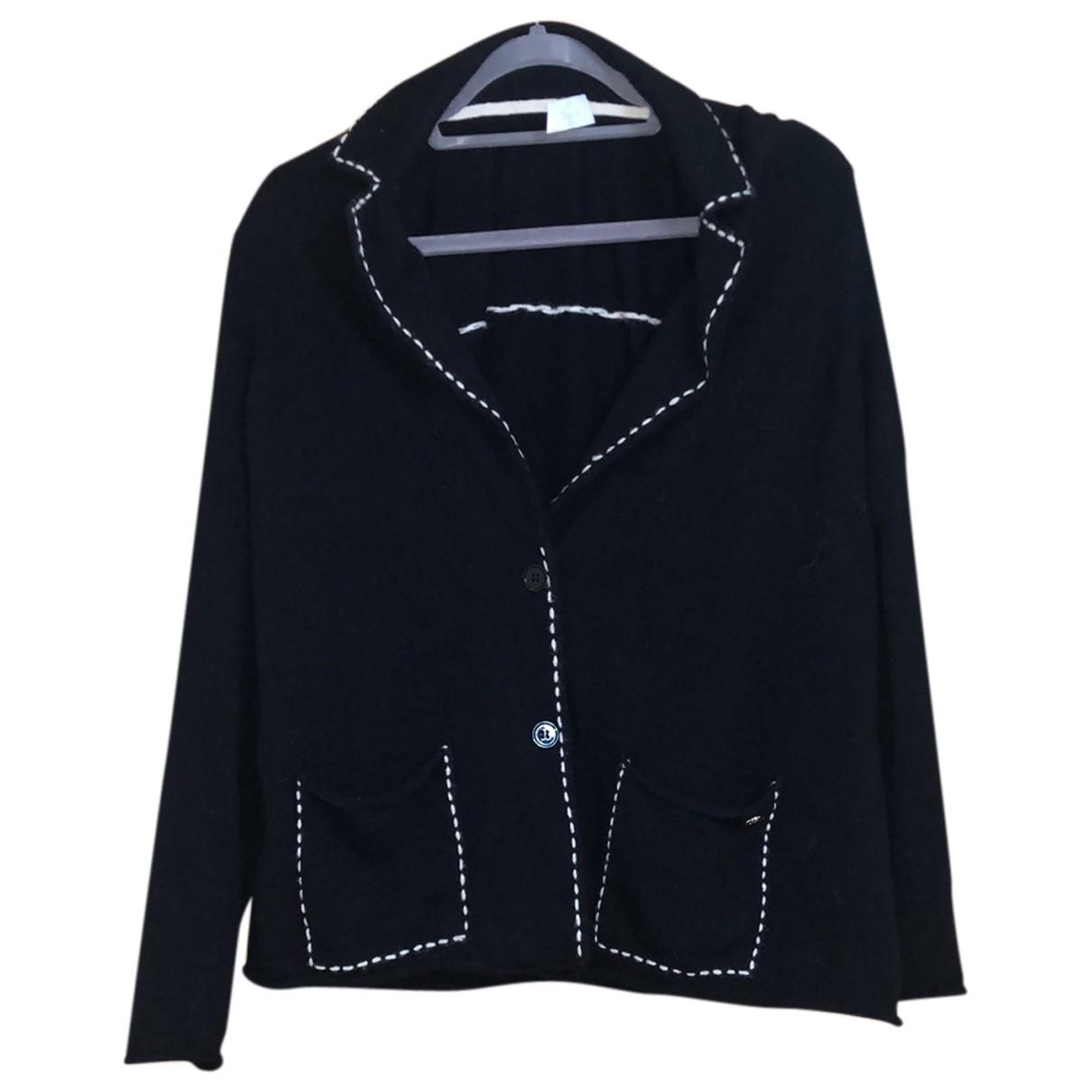Elegance Paris - Pull   pour femme en cachemire - noir
