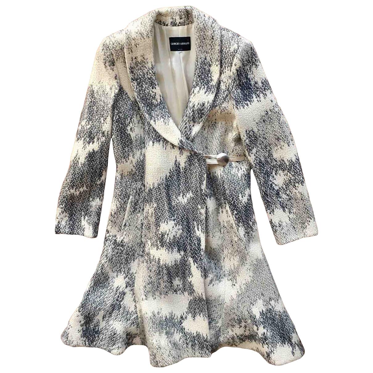 Giorgio Armani - Manteau   pour femme en laine