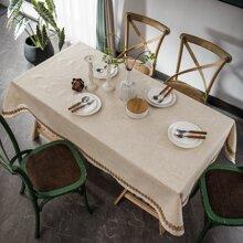 1pc Plain Tablecloth
