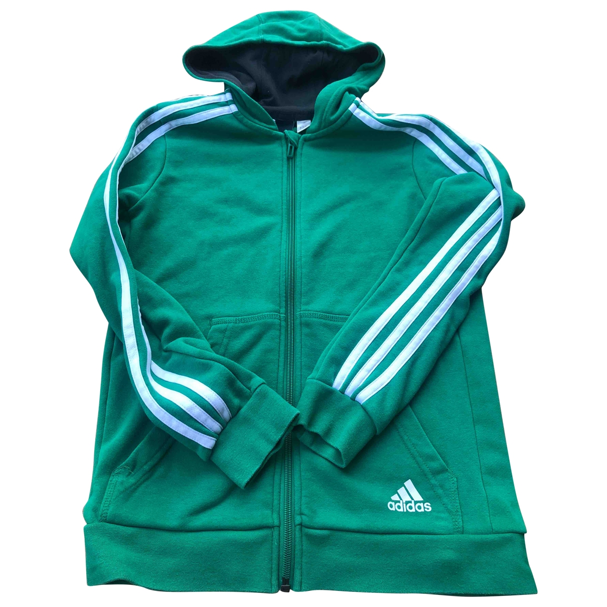 Adidas \N Pullover, StrickJacke in  Gruen Baumwolle