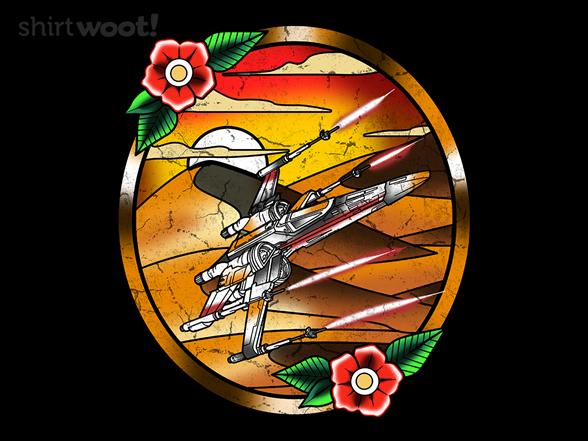 Rebel Spaceship T Shirt