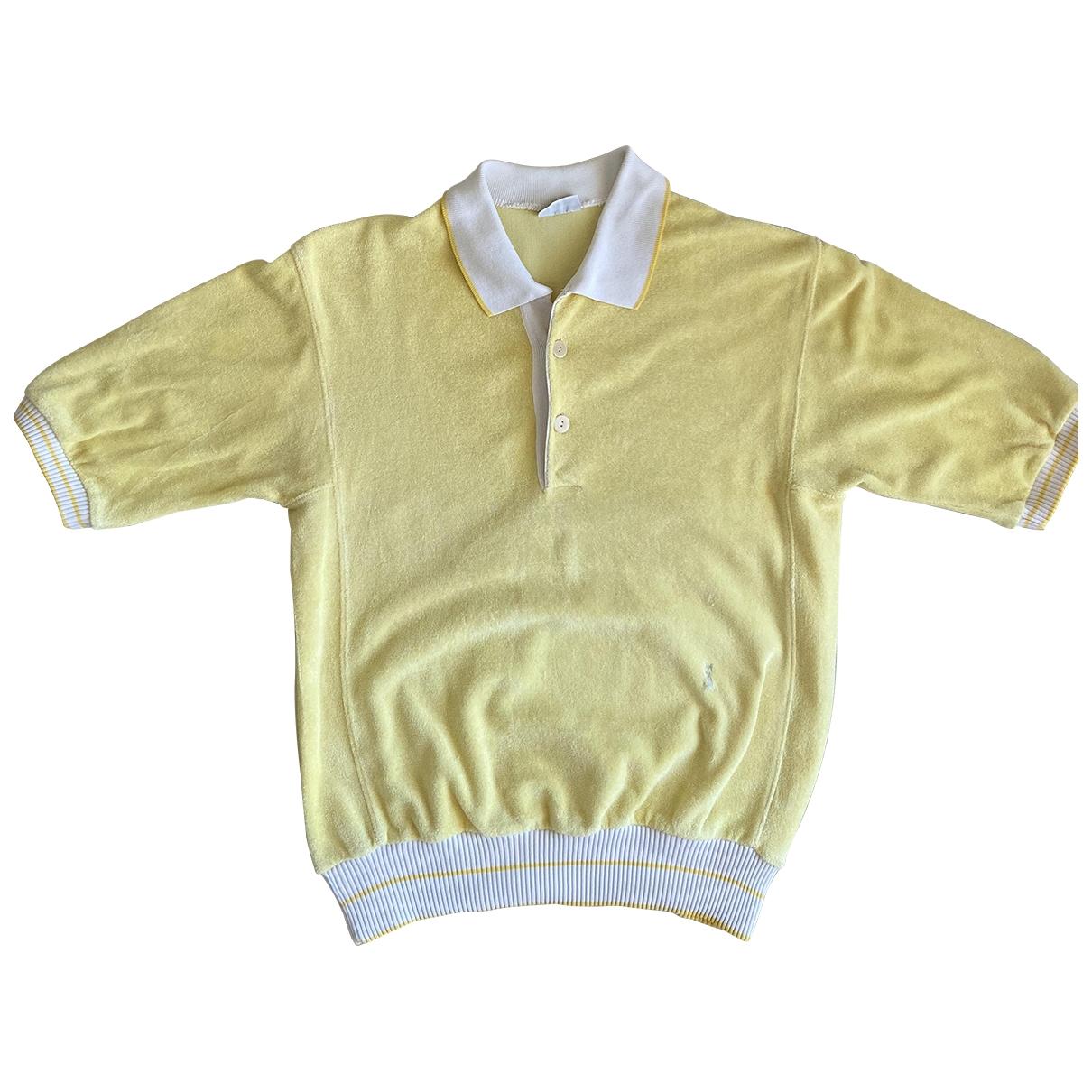 Yves Saint Laurent \N Yellow Cotton  top for Women 48 IT