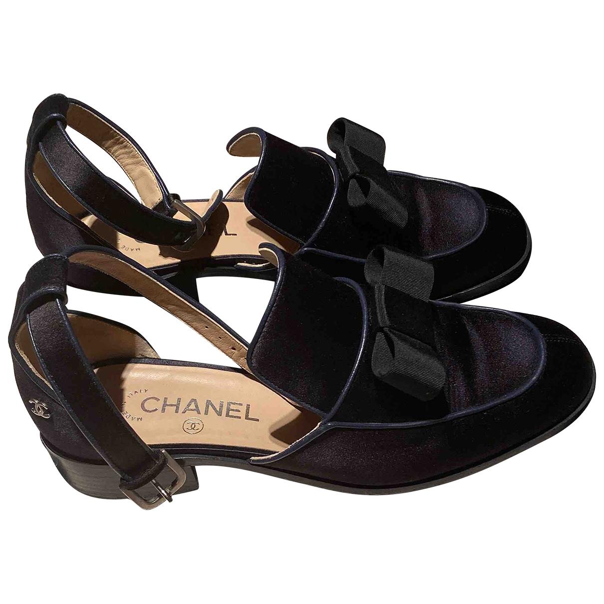 Chanel \N Sandalen in  Bunt Leinen