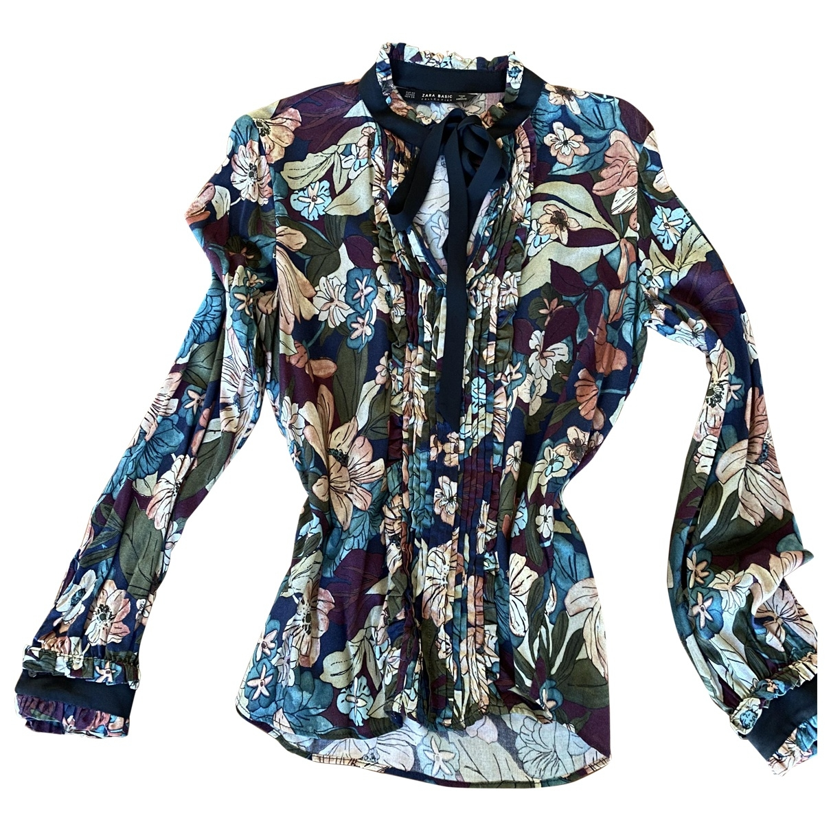 Zara - Top   pour femme - multicolore