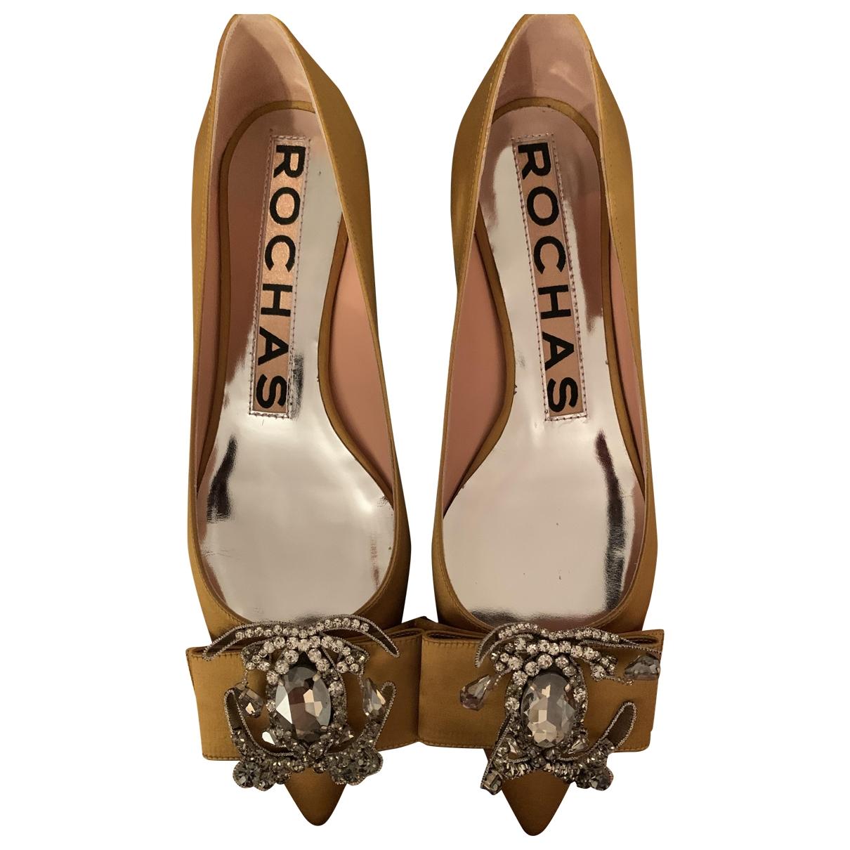 Rochas \N Cloth Ballet flats for Women 38.5 EU
