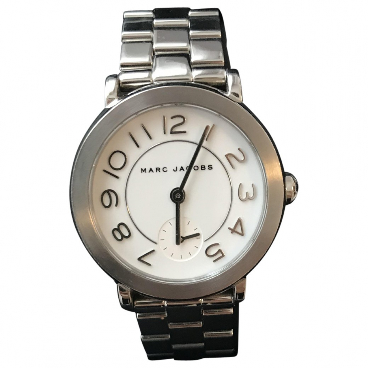 Marc Jacobs \N Uhr in  Silber Stahl