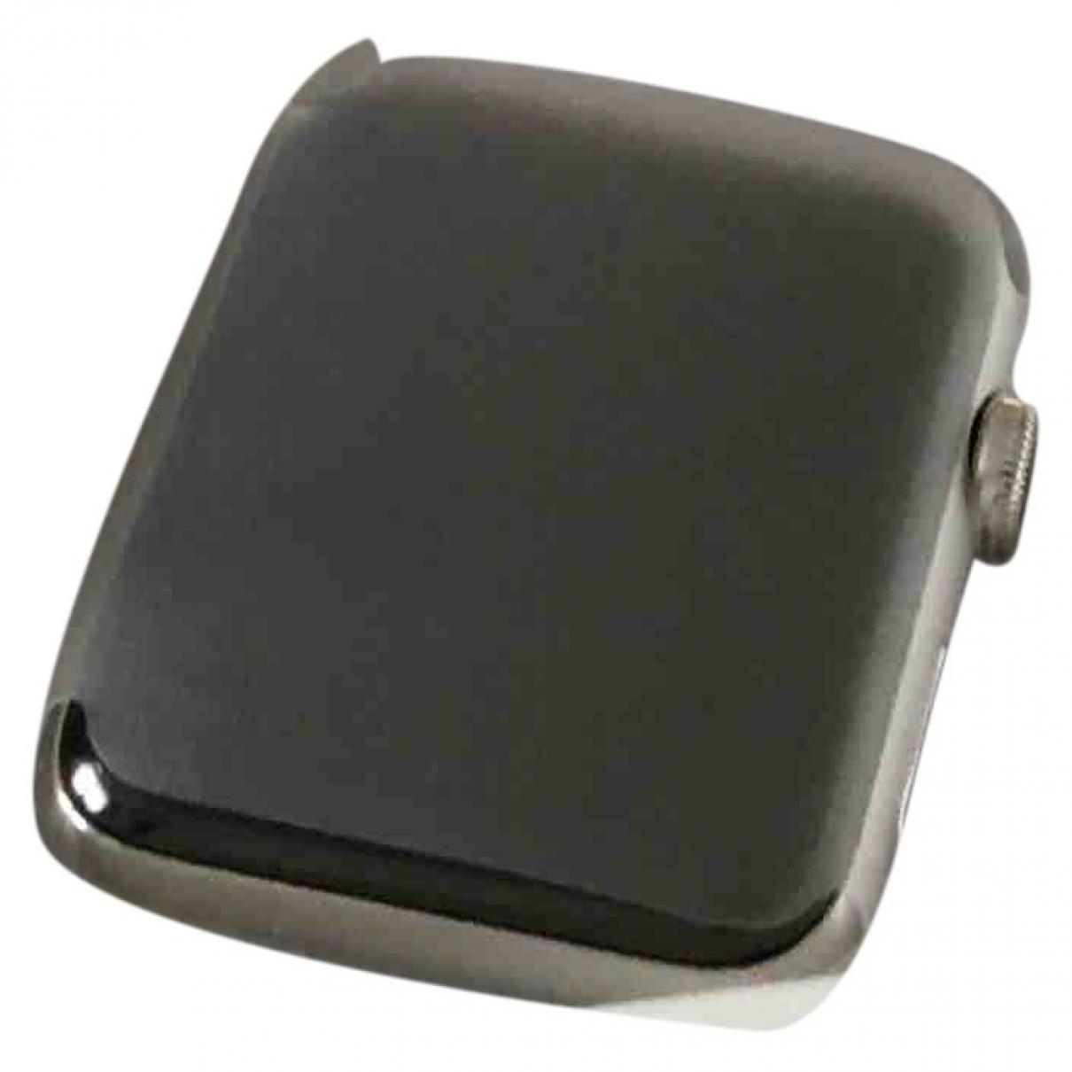 Apple - Montre Apple Watch x Hermes 42mm pour homme en acier - argente