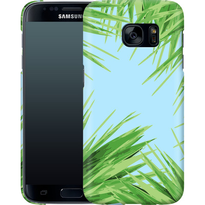 Samsung Galaxy S7 Smartphone Huelle - Aloe von Mukta Lata Barua