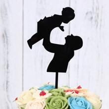 Figure Graphic Cake Topper
