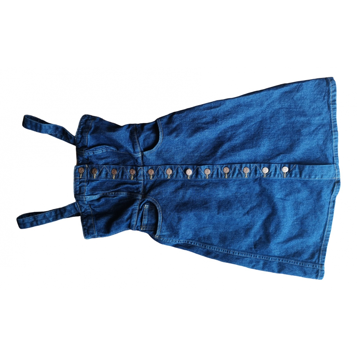 Madewell - Robe   pour femme en denim - bleu