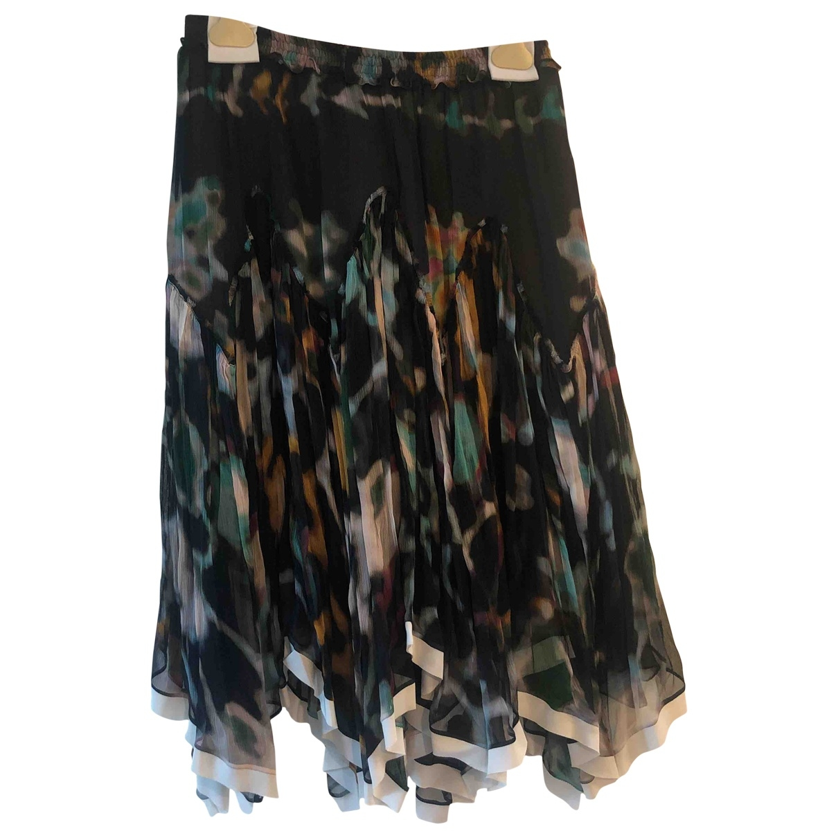 Chloé \N Multicolour Silk skirt for Women 36 FR