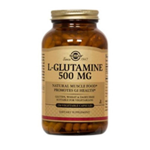 L-Glutamine 250 V Caps by Solgar