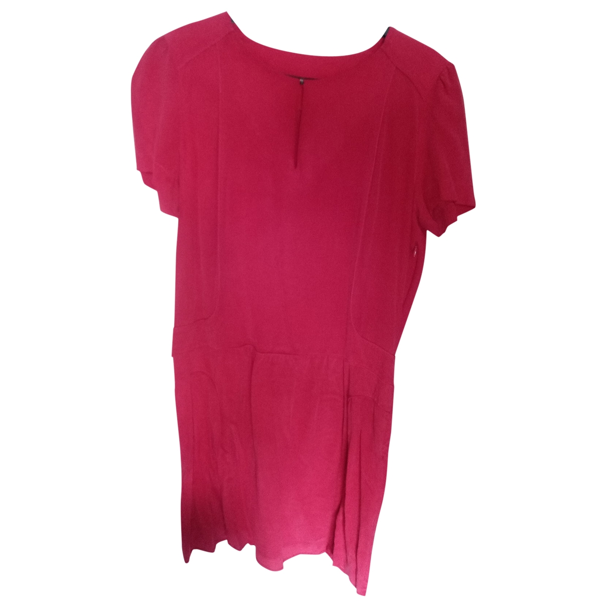 Comptoir Des Cotonniers \N Kleid in  Rot Seide