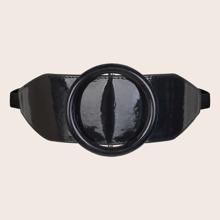 Cinturon con hebilla