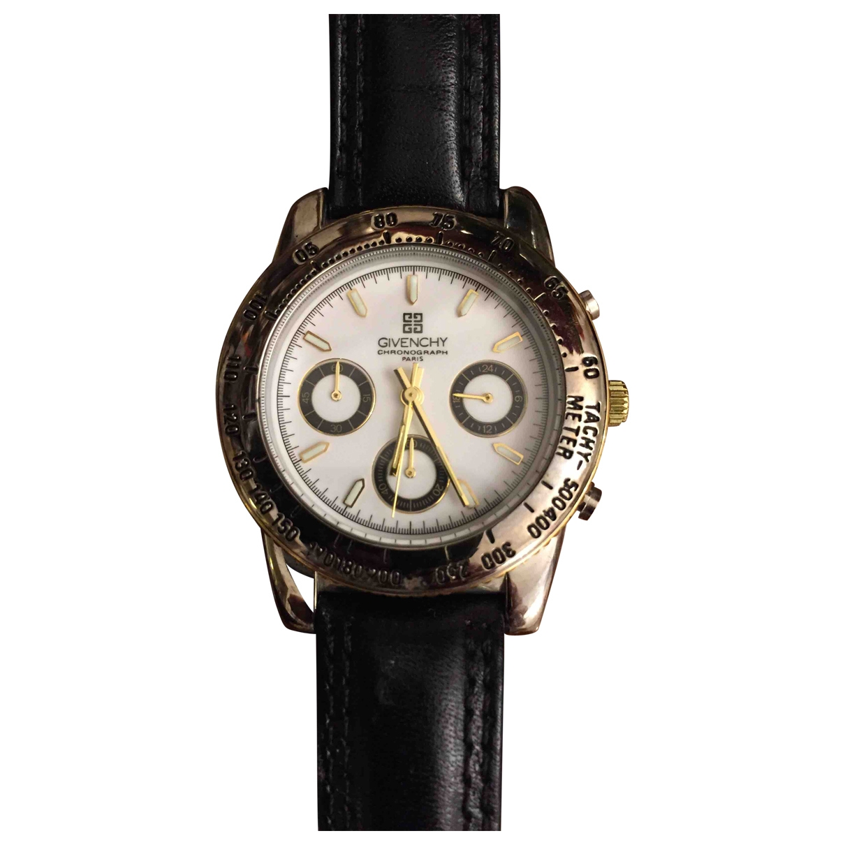 Givenchy \N Uhr in  Weiss Stahl
