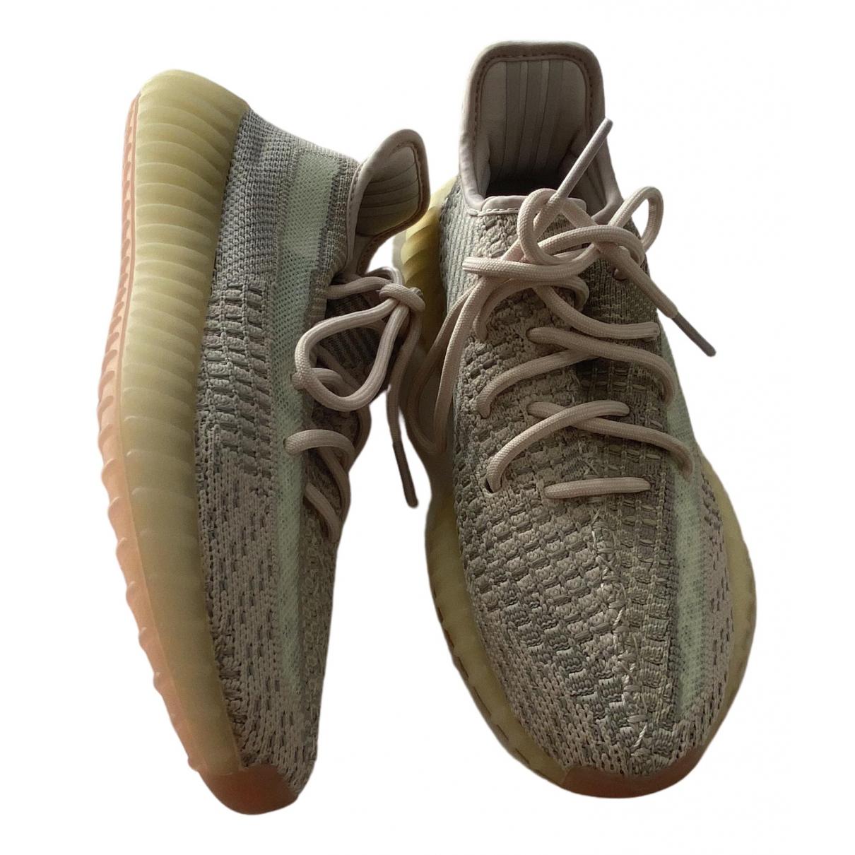Yeezy X Adidas Boost 350 V2 Sneakers in  Bunt Leinen