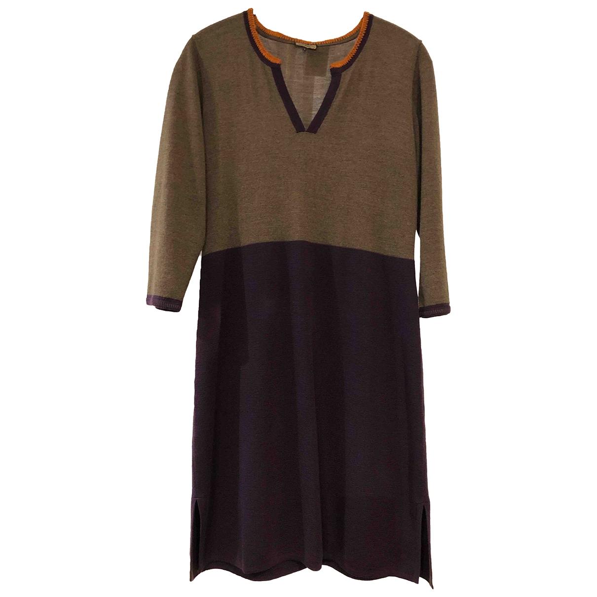 Maliparmi \N Purple Wool dress for Women L International
