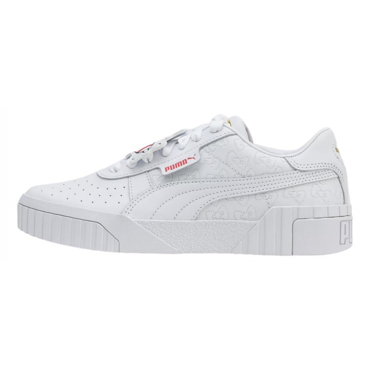 Puma \N White Leather Trainers for Women 38.5 IT