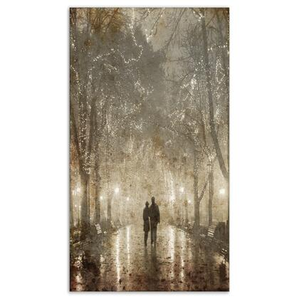 PT8289-20-40 Couple Walking In Night Lights - Landscape Photography Canvas Print -