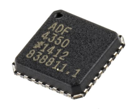 Analog Devices ADF4350BCPZ, Dual Frequency Synthesizer, 32-Pin LFCSP VQ