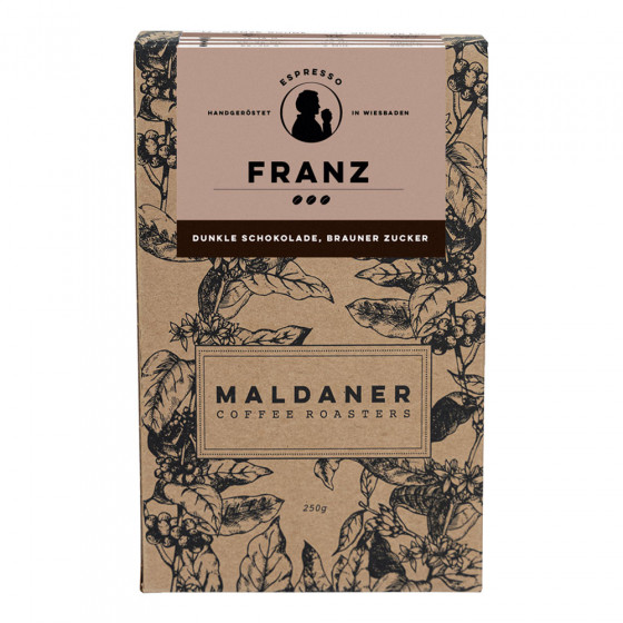 Kaffeebohnen Maldaner Kaffeerosterei Espresso Franz, 250g
