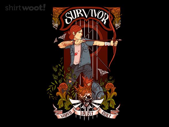 Nouveau Survivor T Shirt