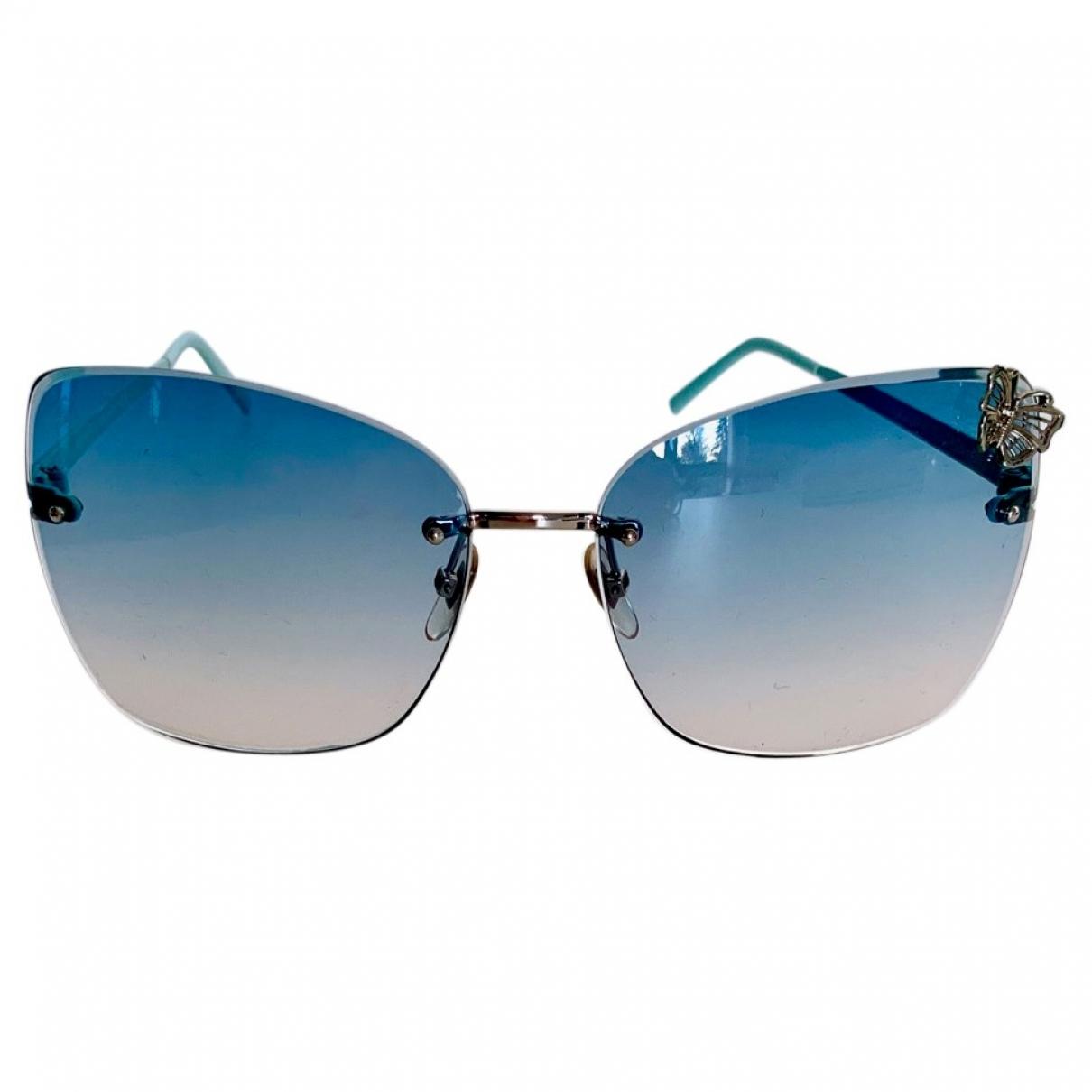 Gucci \N Sonnenbrillen in  Blau Metall