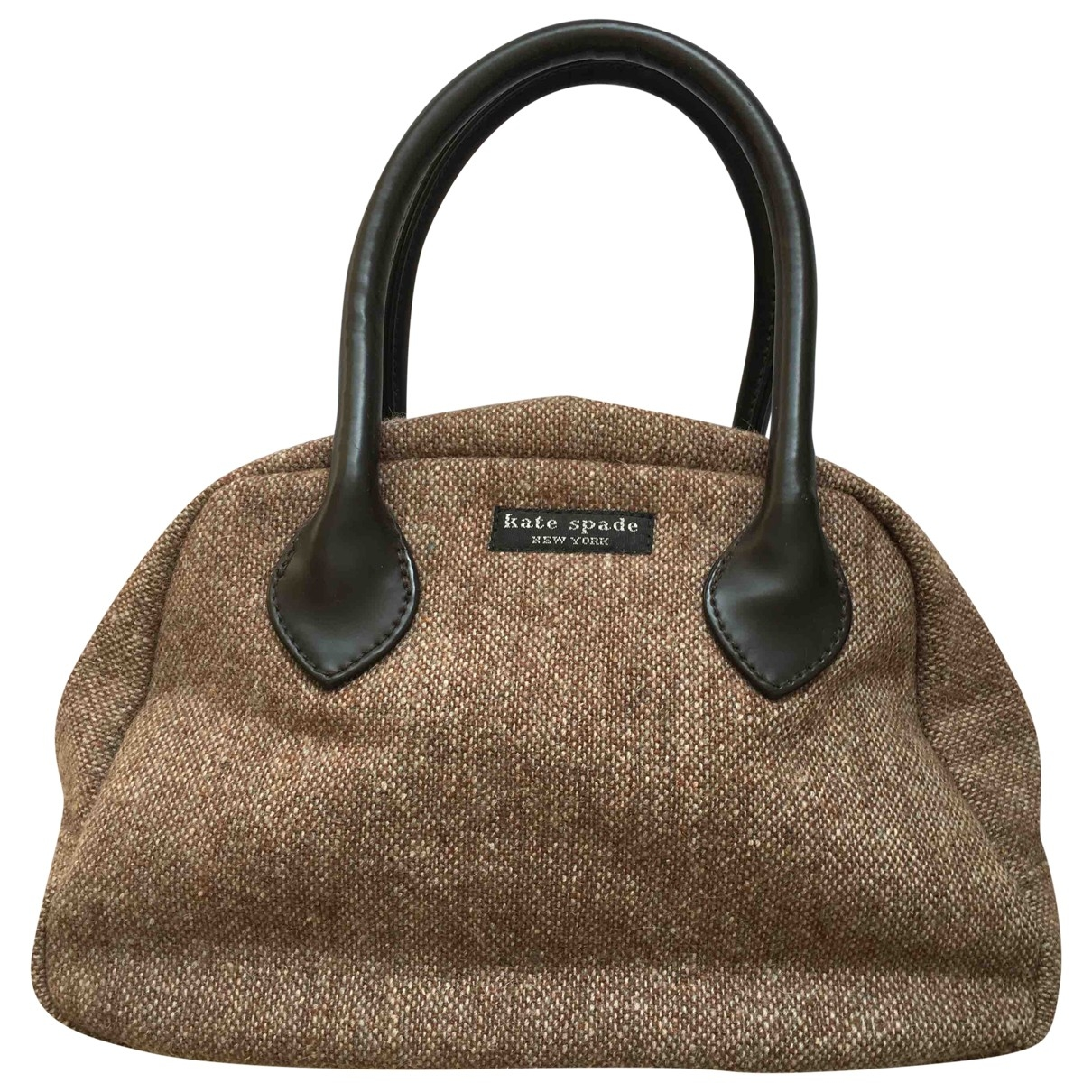 Kate Spade \N Handtasche in  Braun Wolle