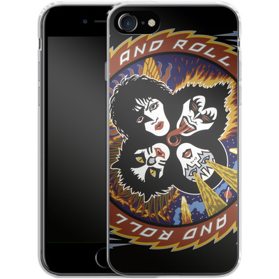 Apple iPhone 8 Silikon Handyhuelle - Rock And Roll Over von KISS®
