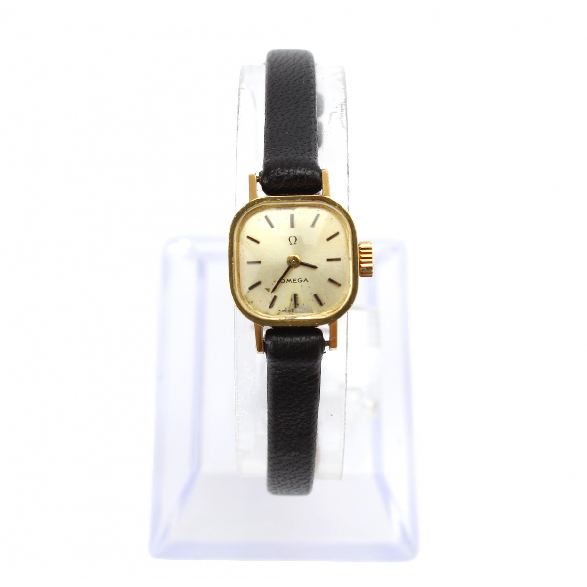 Omega \N Gold Yellow gold watch for Women \N