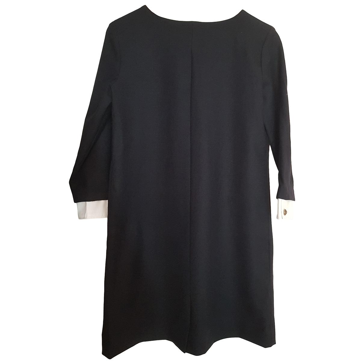 The Kooples \N Navy Wool dress for Women 36 FR
