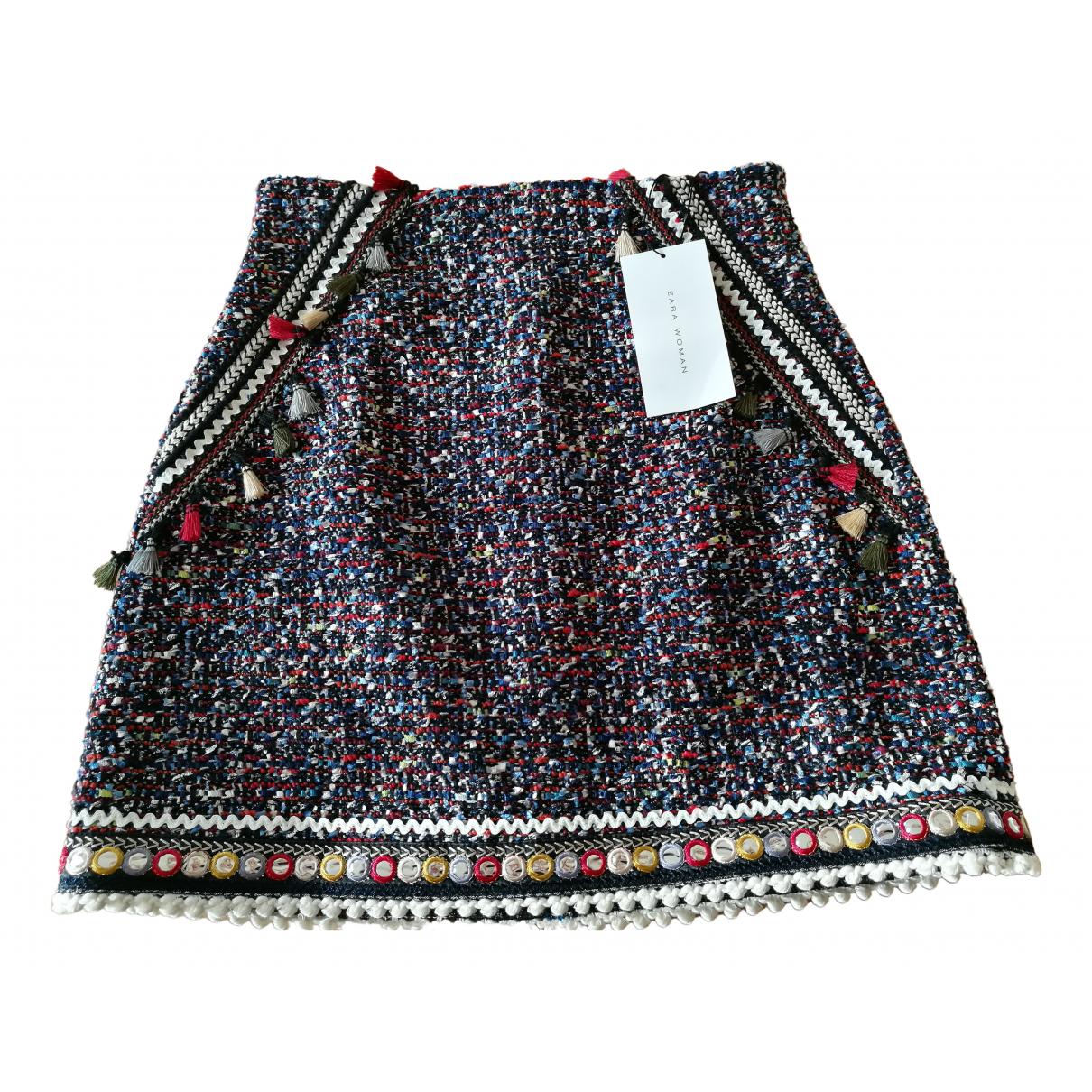 Mini falda Tweed Zara