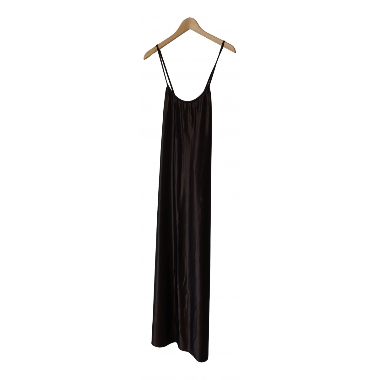 Moschino \N Kleid in  Braun Synthetik