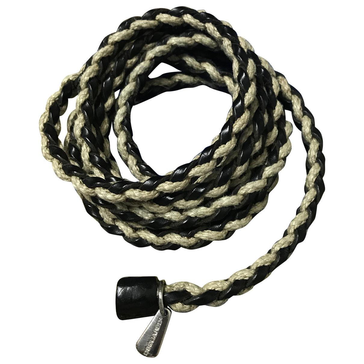 Dsquared2 \N Beige Leather belt for Men 100 cm
