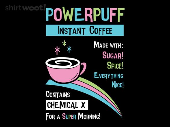 Powerpuff Coffee T Shirt